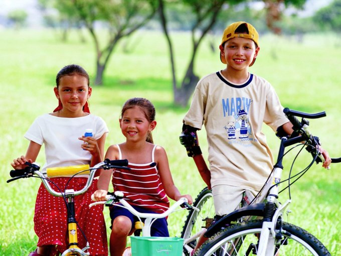 Выбор детского велосипеда